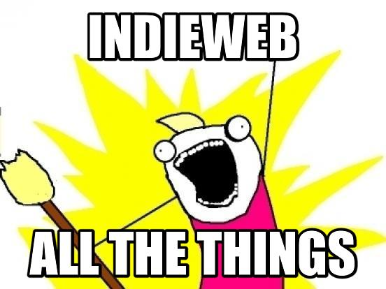 INDIEWEB ALL THE THINGS